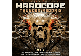 VARIOUS - Hardcore Thunder Megamix Vol.4  - (CD)