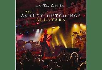 Ashley Allstars Hutchings - As You Like It-Live  - (CD)