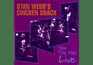 Stan Webb's Chicken Shack - Stan The Man Live  - (CD)