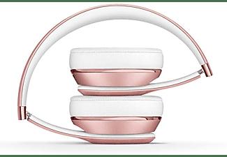 Auriculares inalámbricos - Beats SOLO3 Wireless Skinny, Chip W1, Supresión de ruido, Hasta 40h, Oro rosa