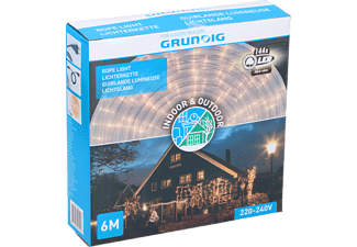 GRUNDIG LED Lichtschlauch LED, Transparant, Warmweiss