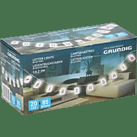 GRUNDIG LED Leuchtbuchstaben Lichterkette
