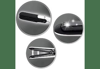 Plancha de pelo -  Remington S 2412 Air Plates, 200 ºC, 10 cm, Cerámica, 30 s, Blanco