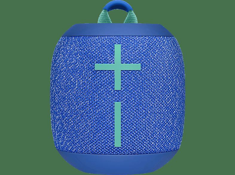 ULTIMATE EARS Wonderboom 2 Bluetooth Lautsprecher, Bermuda Blau, Wasserfest