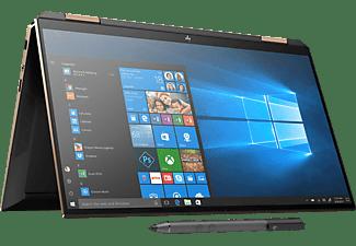 HP Spectre x360 13-aw0320ng, Convertible mit 13,3 Zoll Display, Core™ i7 Prozessor, 16 GB RAM, 1 TB SSD, Intel® Iris™ Plus Grafik, Schwarz