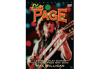 Play Page - Learn To Play Jimmy Page Way With Max Milligan DVD