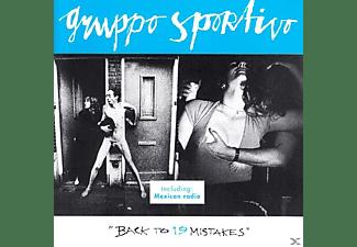 Gruppo Sportivo - Back To 19 Mistakes  - (CD)
