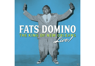 Fats Domino - King Of New Orleans Live  - (CD)