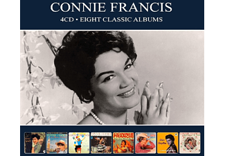 Connie Francis - 8 Classic Albums  - (CD)