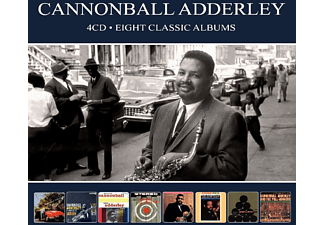 Cannonball Adderley - 8 Classic Albums  - (CD)