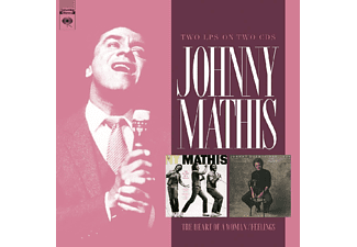 Johnny Mathis - Heart Of A Woman/Feelings  - (CD)