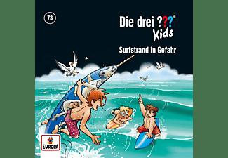 Die Drei ??? Kids - 073/Surfstrand in Gefahr  - (CD)