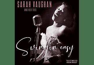 Sarah And Trio Vaughan - SWINGIN' EASY/BIRDLAND..  - (Vinyl)