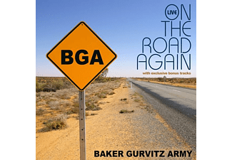 Baker Gurvitz Army - On The Road Again-Live  - (CD)