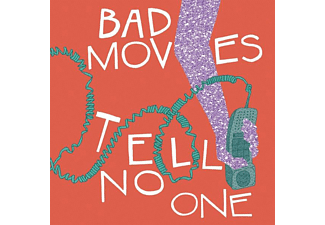 Bad Moves - TELL NO ONE  - (CD)