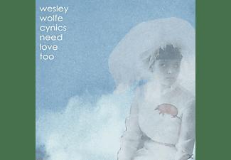 Wesley Wolfe - CYNICS NEED LOVE TOO  - (CD)