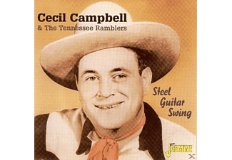 Cecil & The Tennessee Ramblers Campbell - Steel Guitar Swing  - (CD)