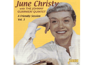 June Christy - FRIENDLY SESSION 3  - (CD)
