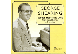 George Shearing - George Meets The Lion: Quintet  - (CD)