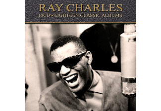 Ray Charles - 18 Classic Albums  - (CD)