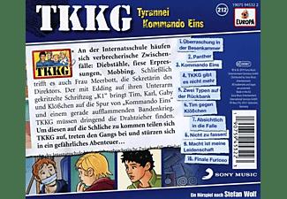Tkkg - 212/Tyrannei Kommando Eins  - (CD)