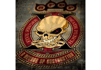 Five Finger Death Punch - A DECADE OF..(COLOURED)  - (Vinyl)