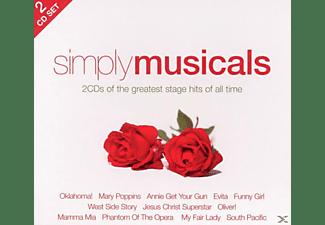 VARIOUS - Simply Musicals (2cd)  - (CD)