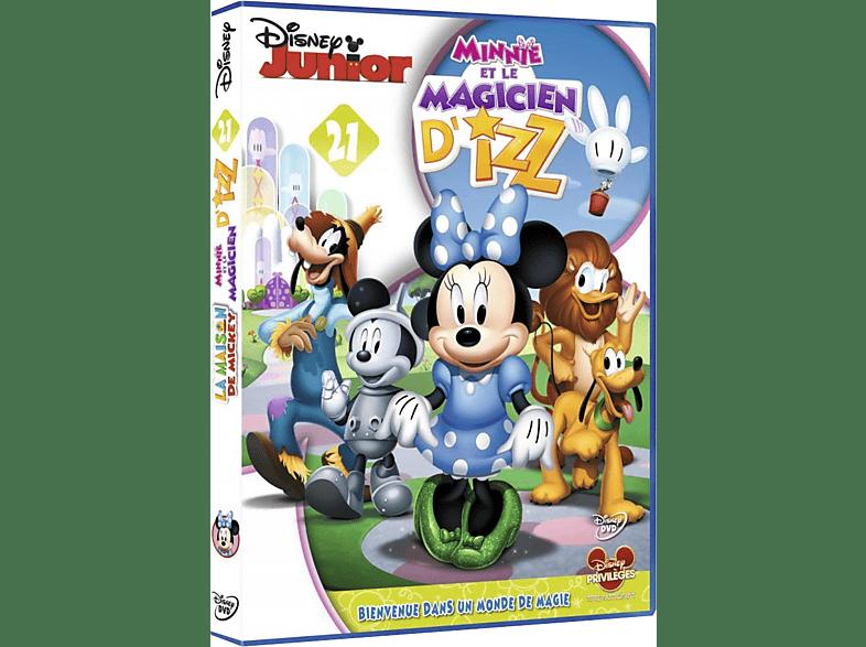 La Maison De Mickey - Vol. 21 - Mini Et Le Magicien D'Izz DVD