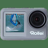 ROLLEI Actioncam 9s Plus Actioncam 4K (3840x2160/60/30fps) inkl. Fernbedienung, WLAN, Touchscreen