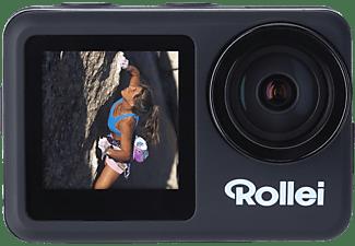 ROLLEI Actioncam 8s Plus Actioncam, spritzwassergeschützt, WLAN, Schwarz
