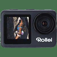 ROLLEI Actioncam 8s Plus Actioncam 4K (3840x2160/60/30fps) inkl. Fernbedienung, WLAN, Touchscreen