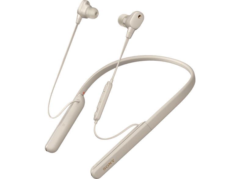 SONY WI-1000XM2, Neckband Kopfhörer Bluetooth Silber