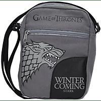 SD DISTRIBUCIONES Game of Thrones Mini Messenger Bag Stark Winter is Coming Tasche, Grau