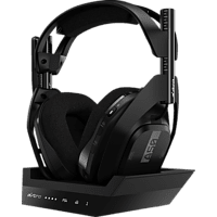 ASTRO GAMING A50 Wireless + Base Station for PlayStation® 4/PC Gaming Headset, Schwarz