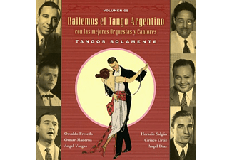 VARIOUS - Tangos Solamente Vol.5  - (CD)