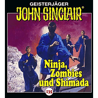 Sinclair John - 135/Ninja,Zombies und Shimada - (CD)
