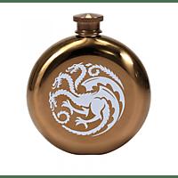 HALF MOON BAY Game of Thrones Flachmann Mother of Dragons Flachmann , Goldfarben