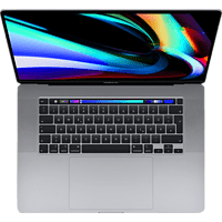 APPLE MVVJ2D/A MacBook Pro, Notebook mit 16 Zoll Display, Core i7 Prozessor, 16 GB RAM, 512 GB SSD, AMD Radeon Pro 5300M, Space Grey