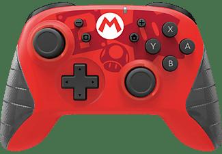 HORI Wireless Switch Controller- Mario (USB-C) Controller Rot