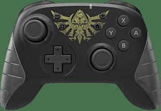 HORI Wireless Switch Controller- Zelda (USB-C) Controller Grau