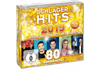 VARIOUS - Schlager Hits 2019  - (CD + DVD Video)