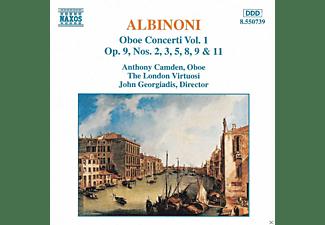 Anthony Camden, The London Virtuosi - Oboenkonzerte Vol.1  - (CD)