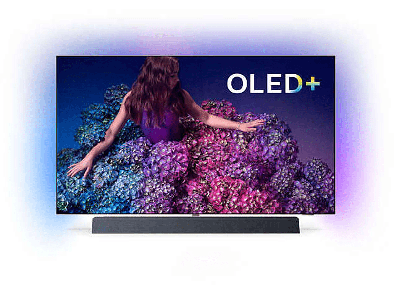 PHILIPS 55OLED934/12 OLED TV (Flat, 55 Zoll/139 cm, UHD 4K, SMART TV, Ambilight, Android™ 9.0 (P))
