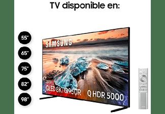 """TV QLED 75"""" -  Samsung QE75Q950RBTXXC, 60 W, UHD 8K, Quantum Processor 8K, HDR, Smart TV, Negro"""