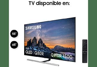 "TV QLED 65"" - Samsung 65Q80R, 4K UHD, IA 4K, Direct Full Array Plus, HDR 1500, Quantum dot, Smart TV"