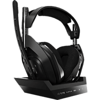 ASTRO GAMING A50 Wireless + Base Station for Xbox One/PC Gaming Headset, Schwarz/Gold