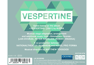Nationaltheater Mannheim - Björk: Vespertine  - (CD)