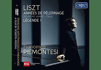 Francesco Piemontesi - Traveling with Franceso Piemontesi  - (CD + DVD Video)