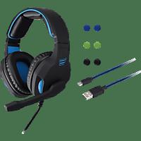 ISY ICB-1000 , PS4 Spielset 3in1, Schwarz/Blau
