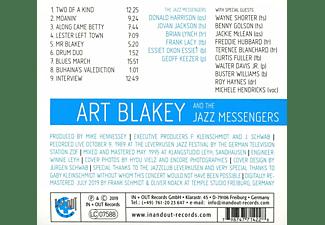 Art Blakey and the Jazz Messengers - The Art Of Jazz (100.Geburtstag)  - (CD)
